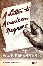 A letter to American Negroes