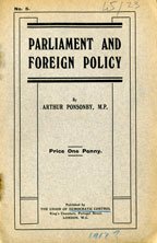 Parliament and foreign policy