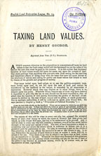 Taxing land values