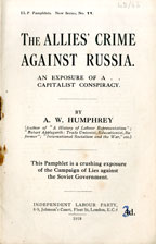 The Allies' crime against Russia